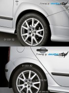 Auto tuning: Fender trims to doorsills + 01 032.52 - for paint*